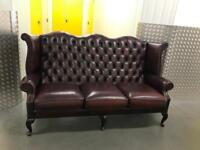 Genuine Chesterfield sofa, Free delivery