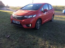 2016 Honda Jazz Ex-Navi only 10K miles 1 previous owner Top of Range Touch Screen Nice family car