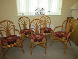 Dining / Conservatory / Living room Bamboo Chairs