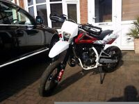 013 HUSQVARNA SMS SM 125 ROAD LEGAL 2 STROKE SUPERMOTO MOTOCROSS SWAP FOR A CAR NOT KTM YAMAHA YFZ