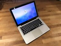 """Apple Macbook Pro 13"""" 500GB Hard drive 8GB RAM - Well Looked After + Upgraded Specs"""