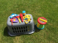Plastic Musical Instruments - to be used with young children