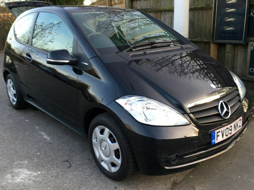 Mercedes benz a160 a150 blueefficiency coupe 2009 black for Mercedes benz remote start instructions