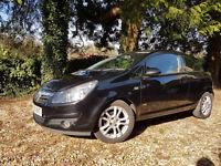 Black Vauxhall Corsa 1.4 i 16v SXi 3dr. Lovely looking car. 8 months MOT.