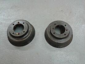 Classic mini rear brake drums