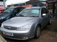2007 07 PLATE IMMACULATE LOW MILAGE MODEO ZETEC TDCI MOT,D JULY 2018 GREAT SPEC ONLY £1995