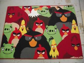 CHILDREN'S CARPET RUG MINIONS, ANGRY BIRDS, STAR WARS, PAW PETROL, HELLO KITTY & MANY MORE 95X133 CM