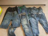 Selection of boys jeans 2-3 years