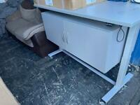 Electronic height changing desk