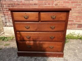 Large Antique Chest Of Drawers