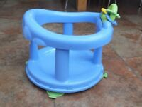 Safety 1st Baby Swivel Bath Seat Pastel Blue