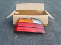 BMW E36 COMPLETE SET OF GENUINE BMW REAR LIGHTS, SIDE REPEATERS AND FRONT INDICATORS INCLUDING BULBS