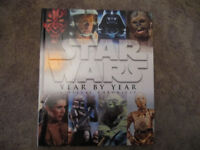Star Wars Year by Year- a Visual Chronicle - hardback large book- vgc- £5
