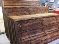 🌺New Brown Wayneylap Fence Panels > Excellent Quality < New > Pressure Treated