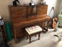 Walker upright piano