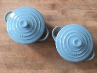 Le Creuset mini cocotte baking/stoneware 10cm