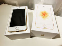 Apple iphone se 32gb unlocked white and gold new condition