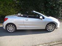 Peugeot 207cc 1.6 16v VTi GT (hardtop convertible) petrol