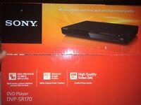 New Sony DVD Playter