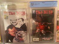 The Boys slabbed bundle CBCS: see description
