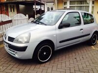 Clio 1.2 only 76k! 2004! Fantastic car!!