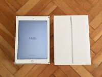 "iPad Pro Wifi 9.7"" Silver 128GB with original box and new cable and adapter."