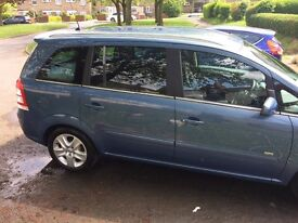 Vauxhall Zafira 7seater in A1 condition