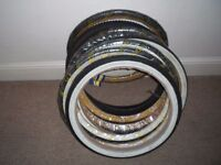 """8 BRAND NEW 20"""" Bicycle/Bike Tyres (and 3 others)"""