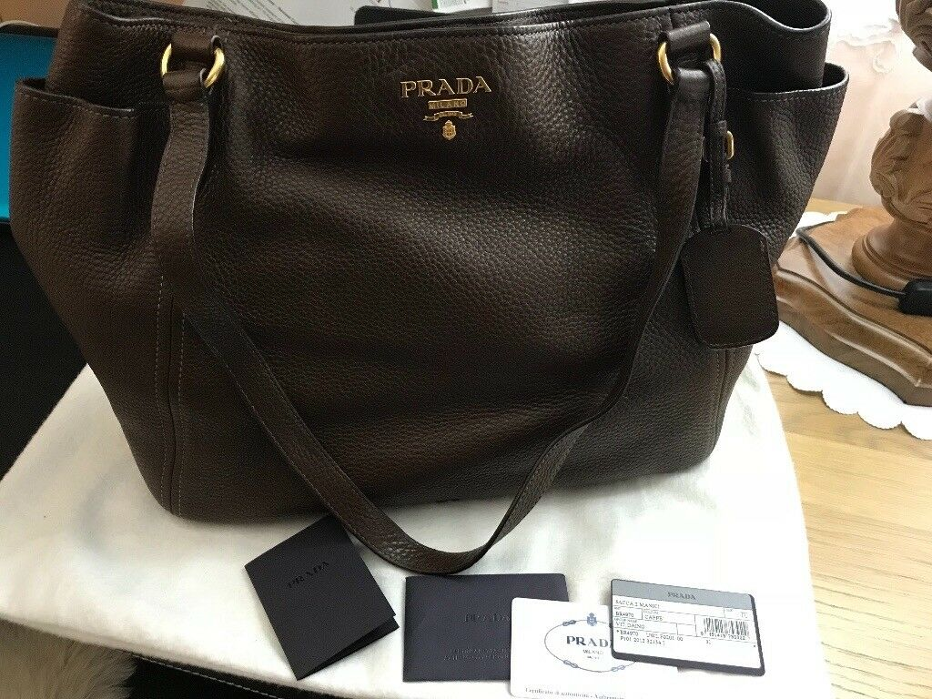 Prada leather handbag   in Hammersmith, London   Gumtree 36f19a7d90