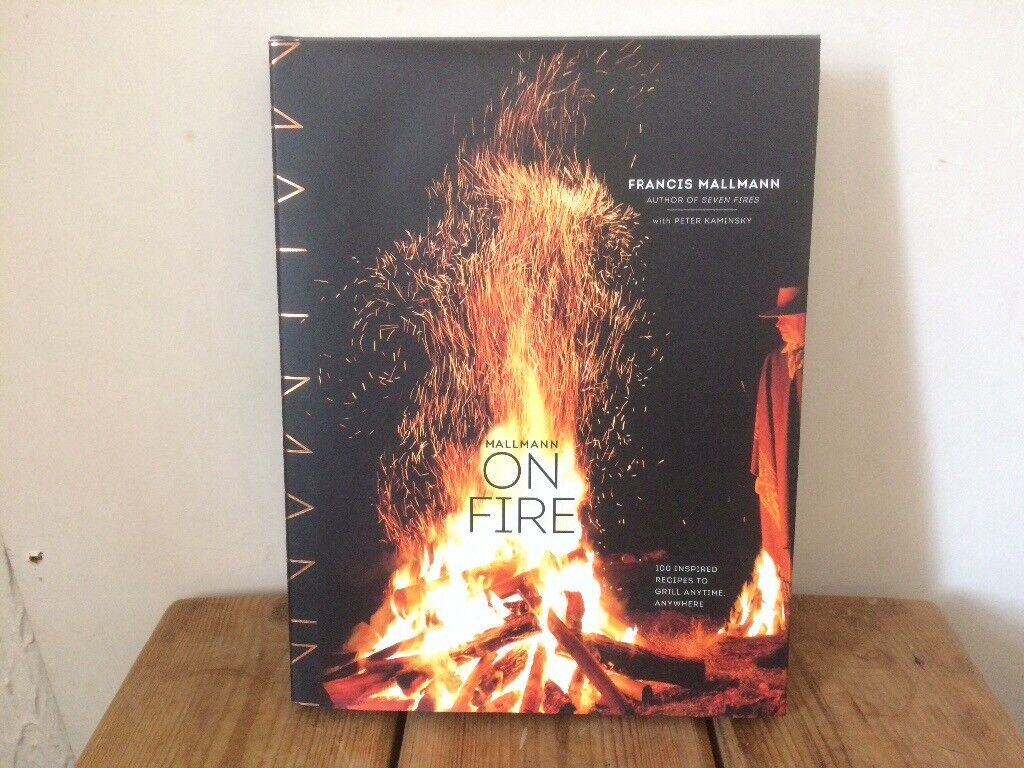 Mallmann ON FIRE Outdoor CookingBrand Newin Roath Park, Cardiff - On Fire gives incredible insight into outdoor cooking with 100 Inspired Recipes To Grill Anytime, Anywhere! £15 ono