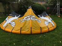 Kitesurfing kites - 3 kite quiver