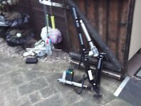 brig-ayd 12 volt scooter hoist,120 kgs maximum lift,remote control,scooter bracket included.
