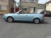 Audi A4 S Line Convertible