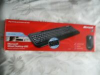 wired microsoft keyboard and mouse (mint)