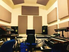 SPACIOUS & BRIGHT MUSIC RECORDING STUDIO SPACE / PRODUCTION ROOM / MEDIA EDITING, London Zone 2 tube