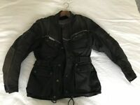 Good waterproof motorbike jacket