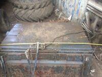Bobcat skid steer sweeper bucket