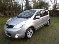 2010 NISSAN NOTE 1.4 ACENTA **FINANCE AVAILABLE**
