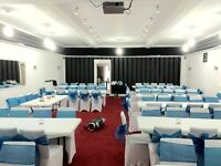 Luxurious Hall hire / Party Venue hire WEDDING - BIRTHDAY - ANNIVERSARIES MEETINGS
