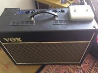 Vox ac15vr guitar amp