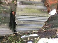 Roof tiles various sizes job lot
