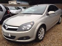 VAUXHALL ASTRA TWIN TOP SPORT 1.8 CONVERTIBLE.79000 MILES.1 FORMER KEEPER.