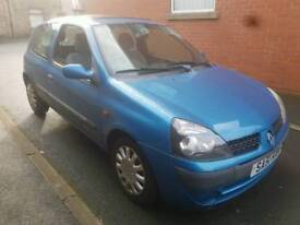 Renault clio expression dci diesel £30 road tax