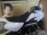 Pitbike swap for a quad