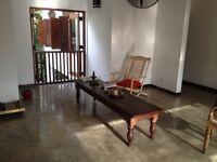 antique original sri lankan solid mahogany bench