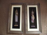 Tribal (Maisi Wall Hanging (pair)