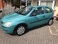 Corsa 1.2 2004! Only 58k! FSH! Drives superb! Not Clio polo ford fiat micra Honda peugoet citreon