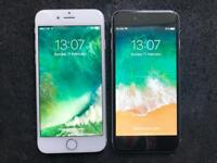 iPhone 6 16GB, EE, virgin. Black or silver available. Good condition and full working.