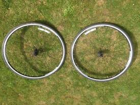 Bontrager wheels with tyres