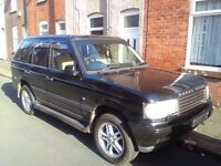 Range rover vouge 4.6 v8 private plate for swaps